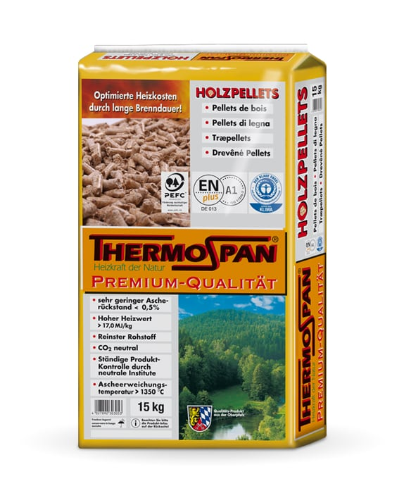 Thermospan Holzpellets Premium