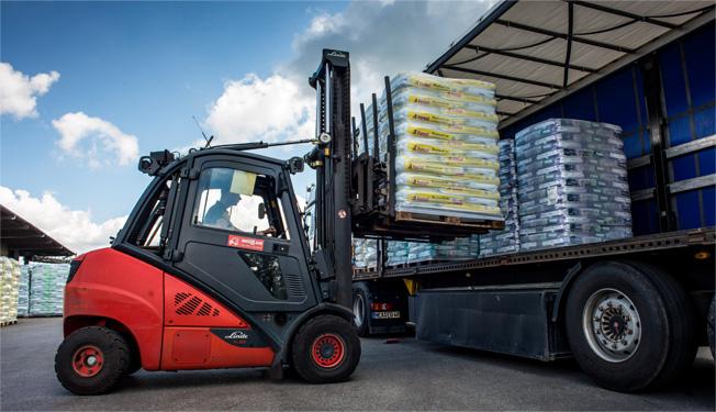Ziegler Erden Verladung Logistik