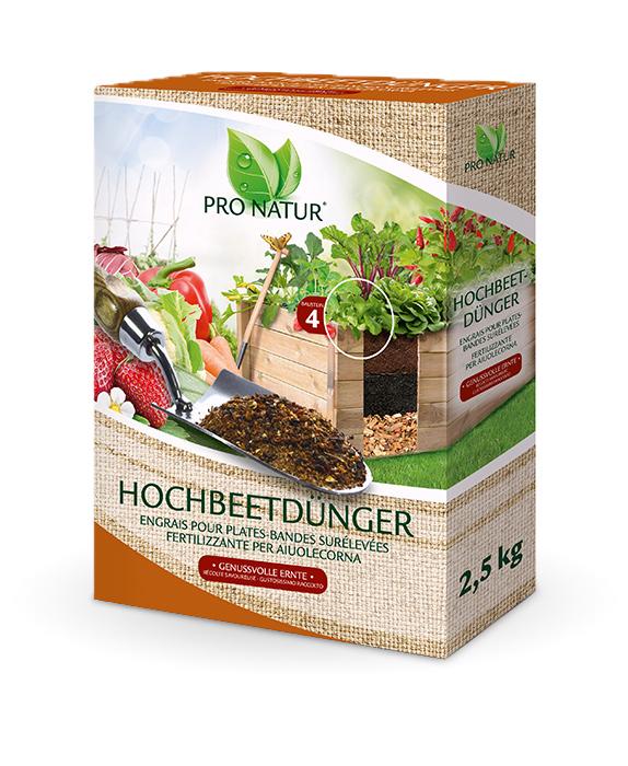 Raised bed fertilizer