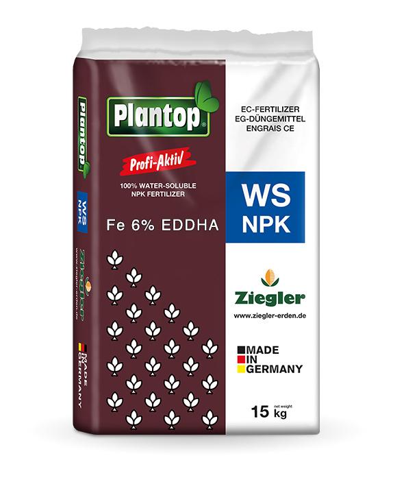 Fertilizzante a base di ferro Plantop Profi Active WS
