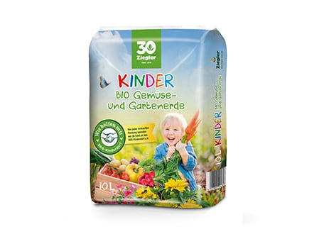 Kinder BIO Gemüse- und Gartenerde